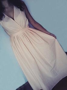 Uszyta przeze mnie sukienka chyba większe wrażenie robi na osobie niż na wies...