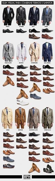 kolor butów i kolor garnituru, jak łączyć kolory