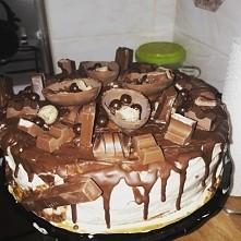 Tort Kinder dla 11latki