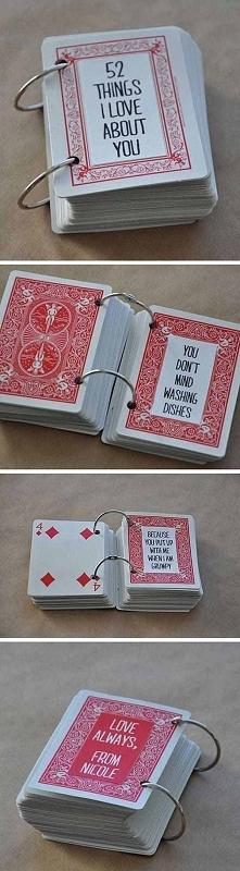 Rewelacyjny pomysł na prezent dla drugiej połówki, na walentynki, urodziny czy dzień chłopaka. Oryginalne wyznanie miłości :)