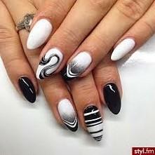 .. piękne paznokcie hybrydowe