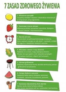 7 zasad zdrowego żywienia