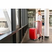 Walizka podróżna Travel Suit. Czerwona walizka