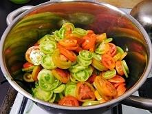 Dziś na blogu zapraszam was do mojej kuchni. Ugotujmy coś razem, porozmawiajmy, to będzie wyjątkowy czas. Próbowaliście kiedyś dżemu z zielonych pomidorów?   Zapraszam do czytan...
