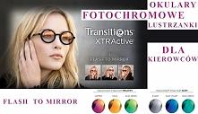 Okulary fotochromy - lustrz...