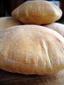 Chleb pita Mięciutkie, puszyste placuszki chlebowe z kieszonkami do nadziewan...