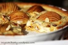 Tarta z gruszkami i serem pleśniowym - Wypieki Beaty