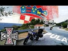 Chorwacja motocyklem Pula, Rovinji i ukryte zejście #