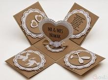 Kartka Ślubna pudełko Mr&am...