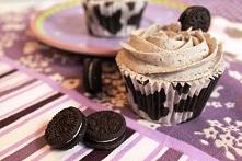 Cupcakes z ciasteczkami Oreo