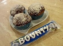 Muffinki z bounty  Przepis po kliknięciu w zdjęcie ;)