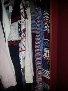 kolekcja sweterków