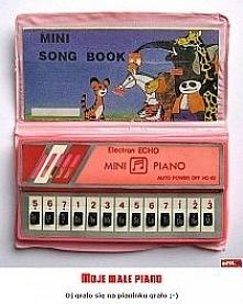 miniaturowe pianinko, kto pamięta??? ;-)