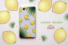 ALOHA! Lemon Garden Silikonowe etui z energetyzującymi cytrynkami do ponad 500 modeli telefonów! :)