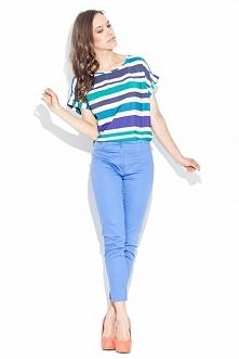 Spodnie rurki. Spodnie wykonane z bawełny są bardzo modne i wygodne.