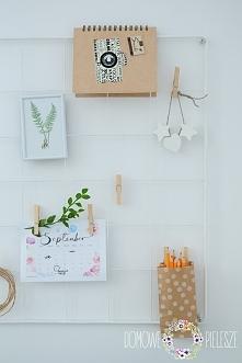 Oganizer || Tablica kratka || Przybornik na ścianę.  Domowe Pielesze - Udekoruj swój dom <3