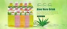 Fresh aloe drink is surely ...