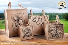 Modne i praktyczne torby z juty od koszyki.net.pl świetnie sprawdzą się na zakupach jako ekologiczna alternatywa dla plastikowych siatek.