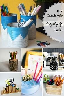 Inspiracje DIY - Organizery...