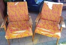 jak odnowić fotele z PRL krok po kroku