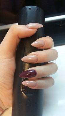 #nails #jesień #nude #pazurki