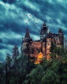 Średniowieczny zamek w Bran, Rumunia