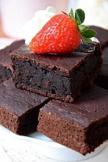 Buraczane brownie (bez glut...