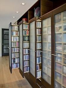 Sprytny pomysł na biblioteczkę