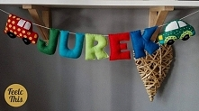 napis do pokoju małego Jurk...
