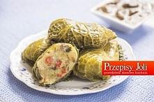 GOŁĄBKI ZIEMNIACZANE WEGETARIAŃSKIE - pyszne, wegetariańskie gołąbki wypełnione ziemniaczanym farszem :) idealne na obiad :) Lubicie?