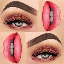 Makijaż z ociepleniem oka.