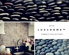 #Pebbles & #PebbleTiles made by #Lux4home™. Always natural...