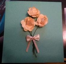 Kartka z kwiatkami ;)