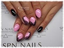 Pastel Pink    Nails by Olga, Studio Magnetic Nails Monika Sokołowska Kielce