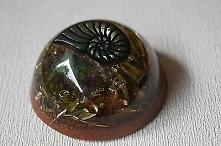Orgonit® - Orgon Generator – Tachyon Orgonit z pięknym kamieniem w kształcie ...