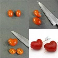 serduszka z pomidorków