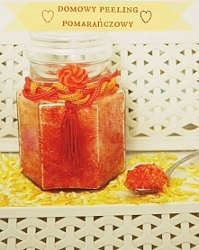 domowy peeling pomarańczowy