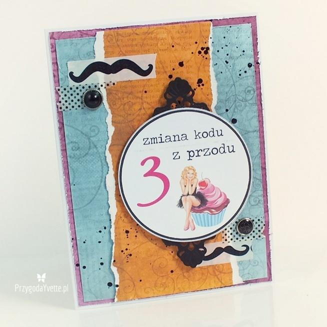 Kartka Na 30 Te Urodziny Faceta Szczegóły Na Blogu Na Moje Prace