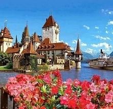 Jezioro Thun - Szwajcaria