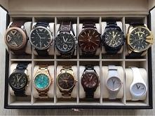 Kolekcja zegarków męża i mo...