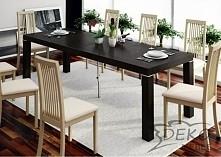 Stół, który wpasuje się zarówno w klasyczne, jak i nowoczesne wnętrze. Prosty...