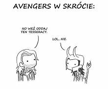 Avengers w skrócie xD