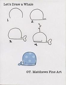 Jak narysować wieloryba