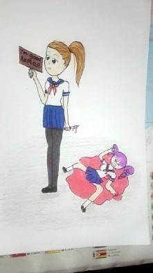 Tak sobie z nudów narysowałam ^^