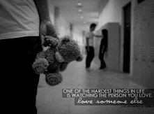 One of the hardest things in life