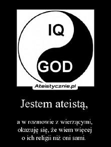 jestem ateistką