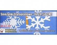 Zapraszamy do naszego sklepu internetowego na arqdecor.pl oraz arqdecor.eu Śnieżynki Styropianowe 16,24,50 CM !