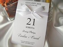 Zaproszenie ślubne - kartka z kalendarza