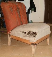 jak wyremontować fotel art deco krok po kroku