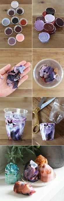 Kryształowe mydło DIY ➡ Roz...